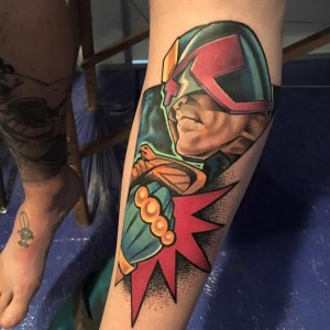 Tattoo Wars 2016 - Gold Trophy in Colour