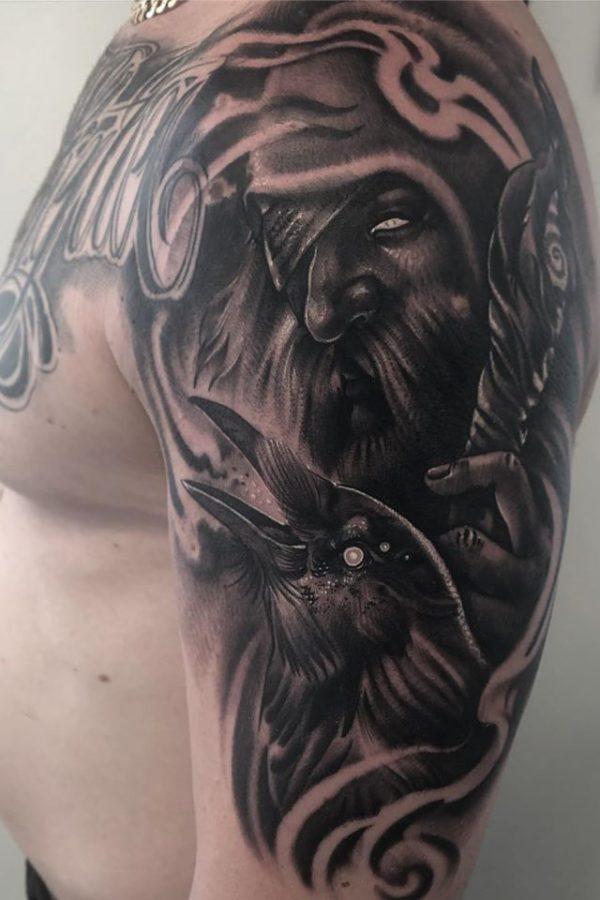 ciernobiele_tetovanie_rameno_7